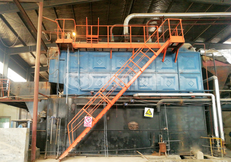 12 tph DZL biomass steam boiler for sugar refinery