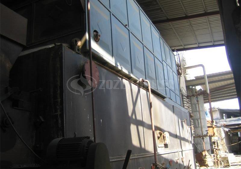 15 tph SZL biomass-fired steam boiler for textile factory