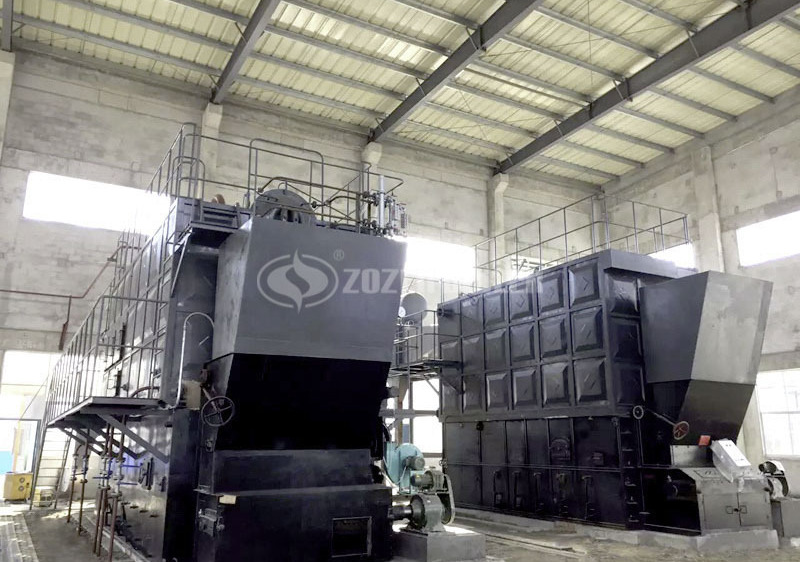 20 tph SZL biomass-fired water tube boiler project for oil refining industry