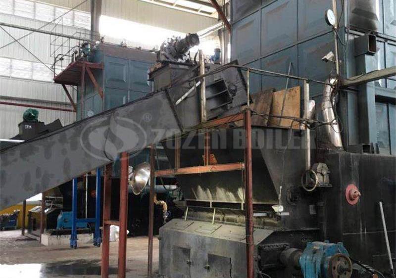 20 tph SZL biomass-fired boiler for tire factory