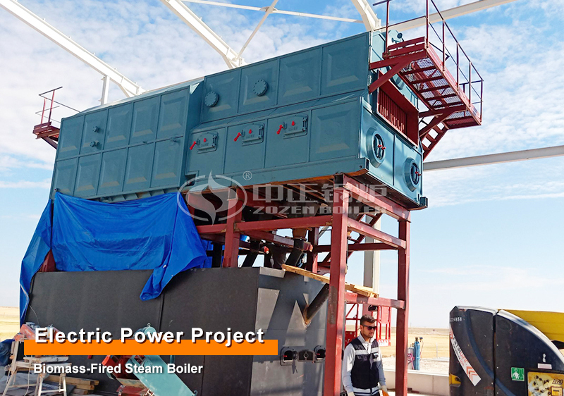 130 tons of biomass circulating fluidized bed boiler used in biomass power plant
