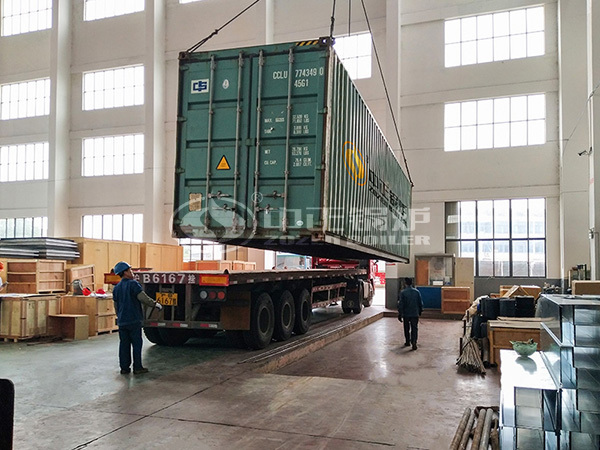 20 tons of biomass steam boiler used in beer factory
